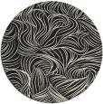 rug #284829   round black rug