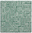 rug #292397 | square green rug