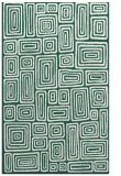 rug #293101 |  blue-green rug