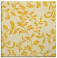 rug #294313   square yellow rug