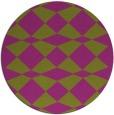 rug #298832   round check rug