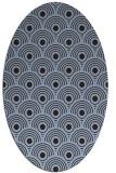 rug #299771 | oval circles rug
