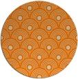 rug #300677 | round orange rug