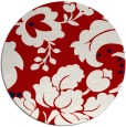 rug #302361   round red rug