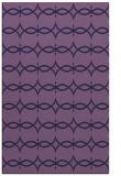 rug #305385 |  blue-violet rug