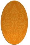rug #307041 | oval damask rug