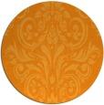 rug #307745 | round light-orange rug