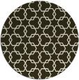 rug #309340 | round geometry rug