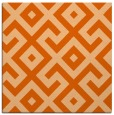 rug #313645 | square red-orange rug