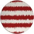 rug #325250 | round stripes rug