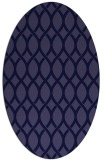rug #327901   oval blue-violet rug