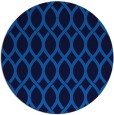 rug #328689 | round blue rug