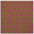 rug #329553 | square light-green rug