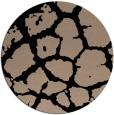 rug #332053 | round black rug