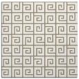 rug #334645   square mid-brown rug