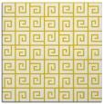 rug #334805 | square yellow rug