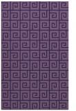 rug #335305 |  blue-violet rug