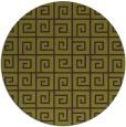 rug #335789   round purple rug
