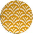 rug #337657 | round light-orange rug