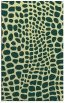 rug #342453 |  blue-green rug