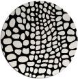 rug #342605 | round black rug