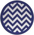 rug #355201 | round white rug