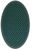rug #356011 | oval circles rug