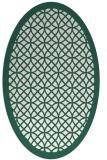 rug #356110   oval circles rug