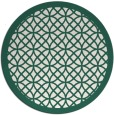 rug #356814   round borders rug