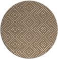 rug #372673 | round beige rug