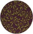 rug #379789 | round green rug