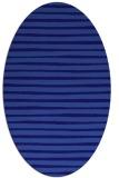 rug #382481 | oval blue-violet rug
