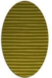 rug #382697 | oval light-green rug