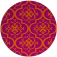rug #385107 | round traditional rug