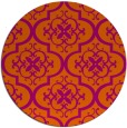 rug #385108 | round traditional rug