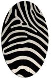 rug #387733 | oval blue-green rug