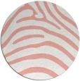 rug #388581   round pink rug