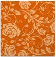 rug #389325 | square red-orange rug