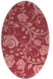 rug #389633 | oval flags rug