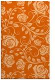 rug #390029 |  red-orange rug