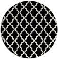 rug #397433 | round white rug