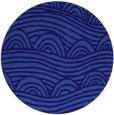rug #399025 | round blue-violet rug