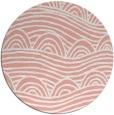 rug #399141   round pink rug