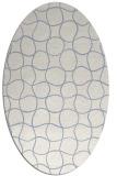 rug #400019 | oval circles rug