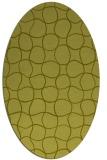 rug #400297 | oval light-green rug
