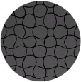 rug #400689 | round black rug