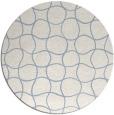 rug #400723   round check rug