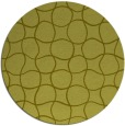 rug #401001 | round light-green rug