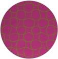 rug #401009 | round light-green rug