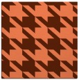 rug #405105 | square red-orange rug